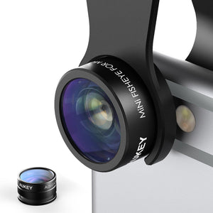 AUKEY 2 in 1 Mini Smartphone Camera Lens