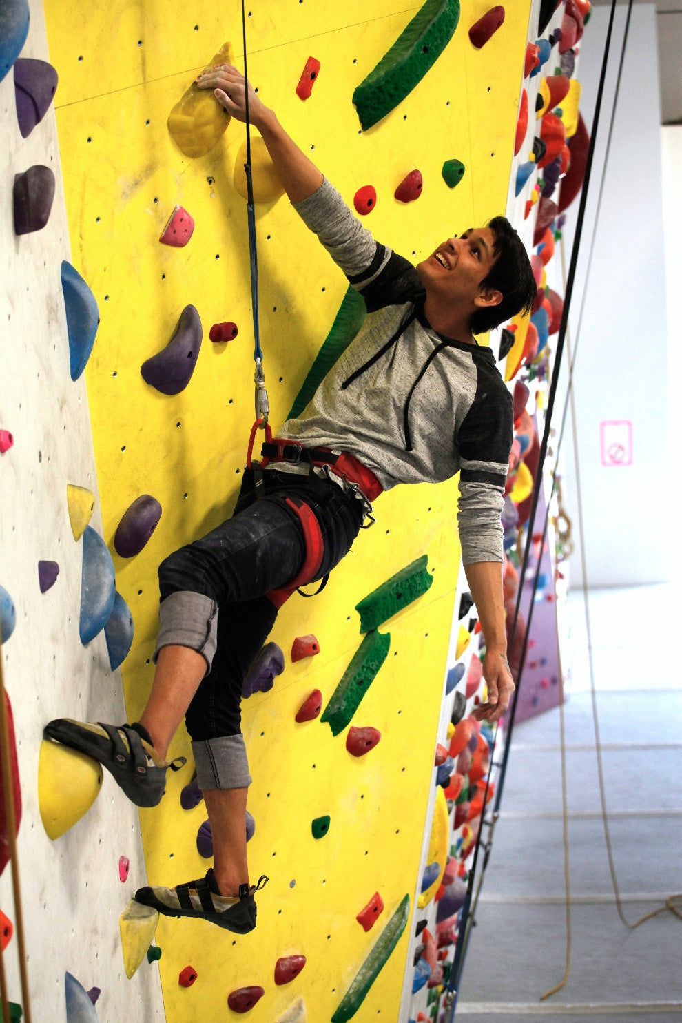 How to Spring into Shape with Indoor Rock Climbing