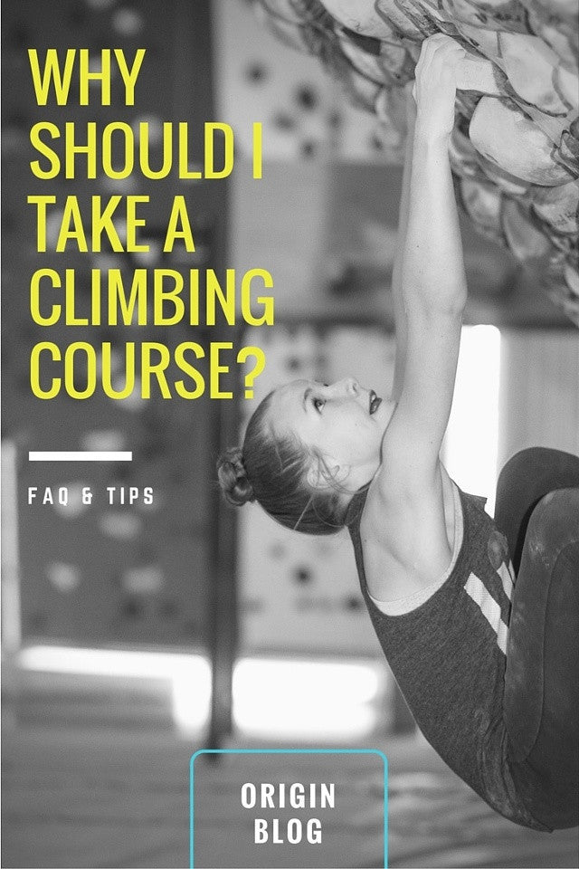 Why Should I Take a Climbing Course