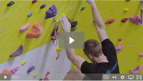 Climbing tips: Straight arms
