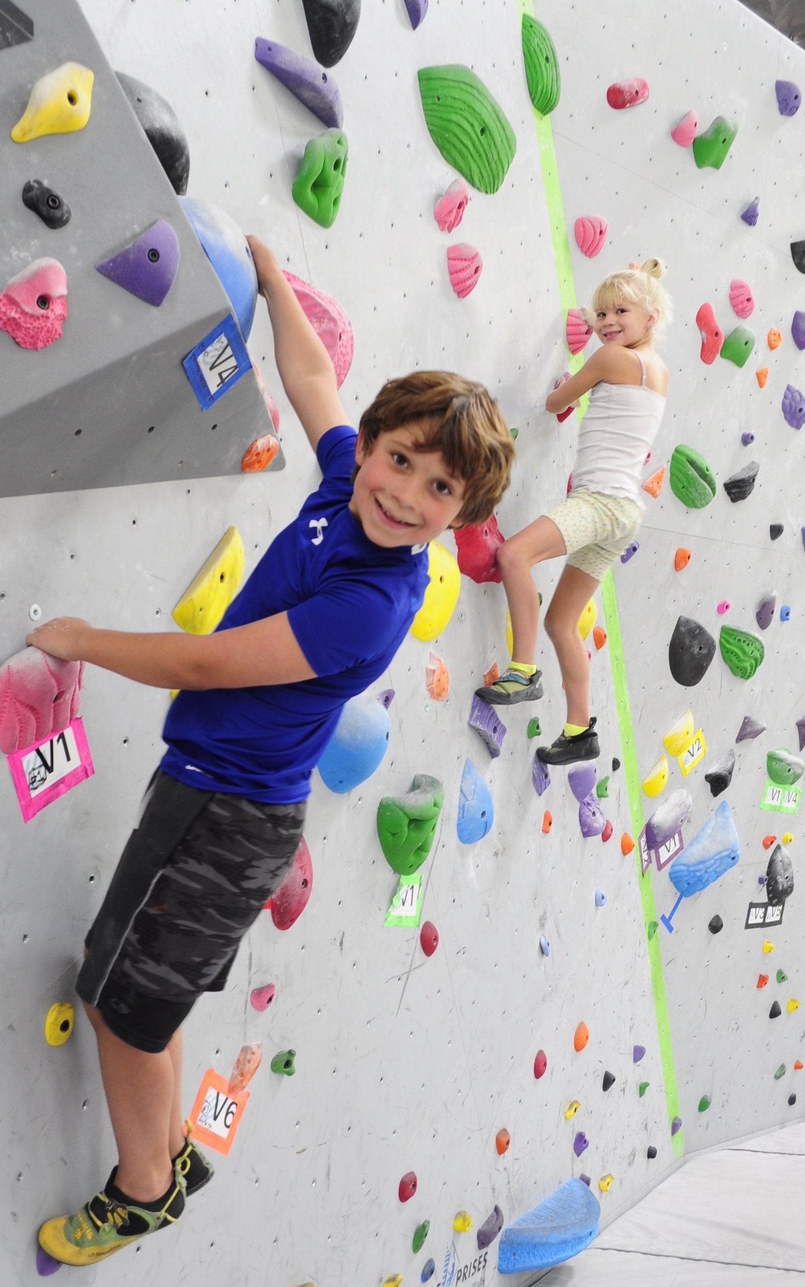 summer camp climbing las vegas