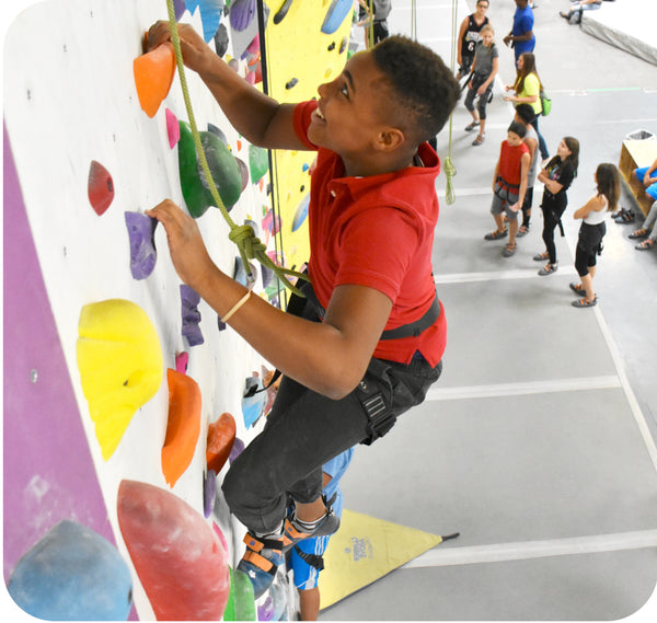 climbing club for teenagers