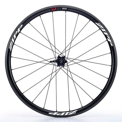 Zipp 202 V3 Firecrest Carbon Clincher 11 Speed Rear Wheel - White Decal
