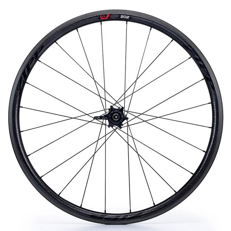 Zipp 202 V3 Firecrest Carbon Clincher 11 Speed Rear Wheel - Black Decal