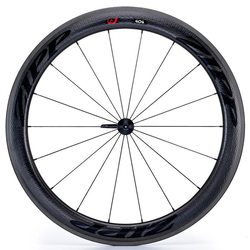 Zipp 404 V3 Firecrest Carbon Clincher Front Wheel - Black Decal