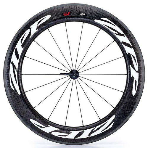 Zipp 808 V3 Firecrest Carbon Clincher Front Wheel - White Decal