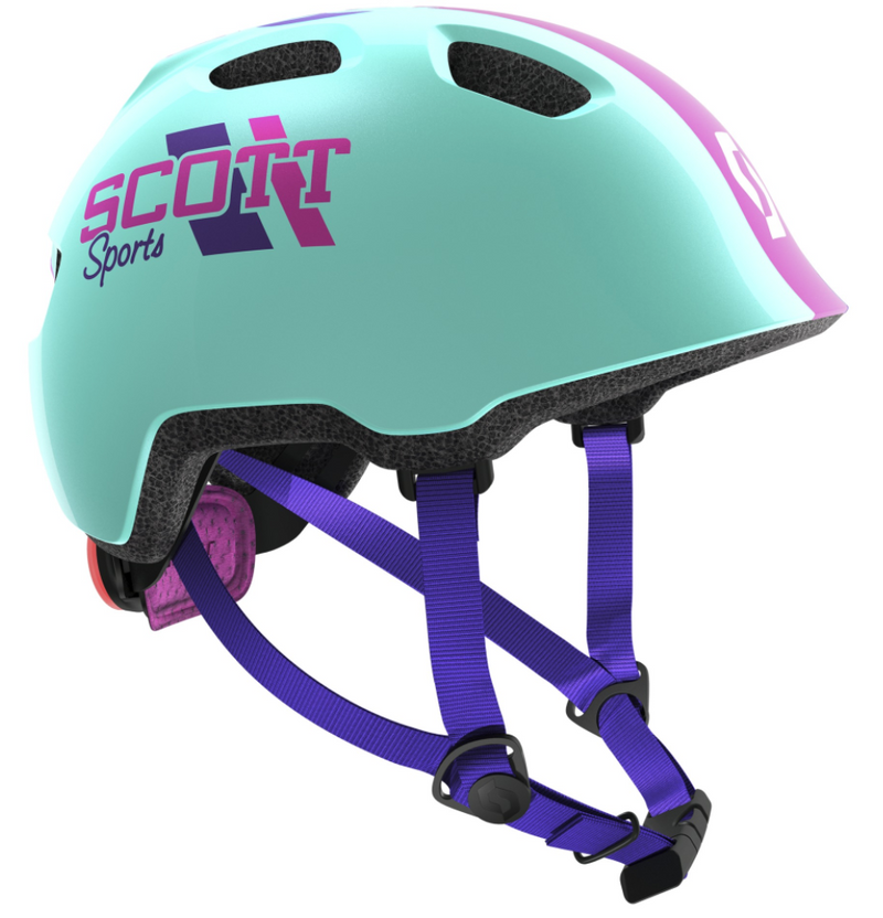 Scott Chomp 2 JR Helmet - Blue/Pink (46-52c)