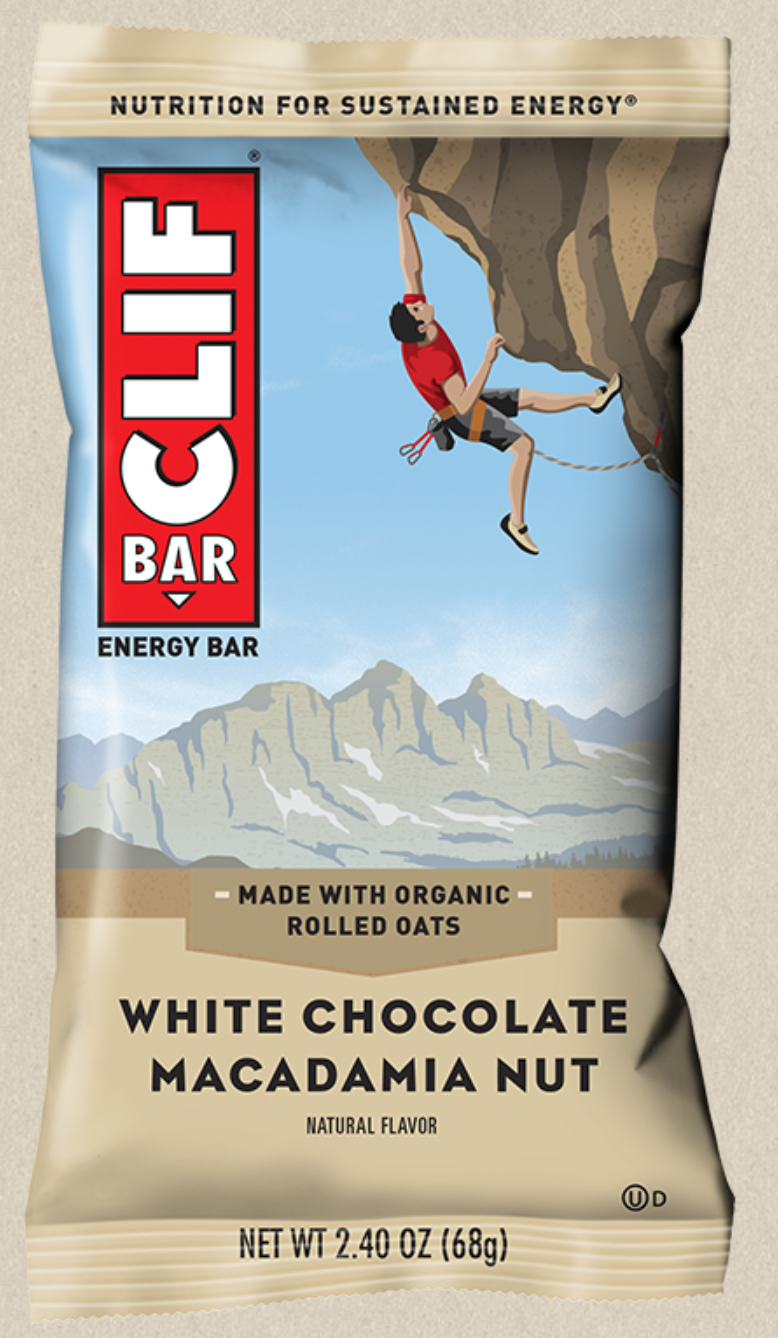 Clif Bar - White Choc Macadamia (SOLD OUT)