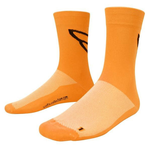 Volta Neon Socks - Fluro Orange