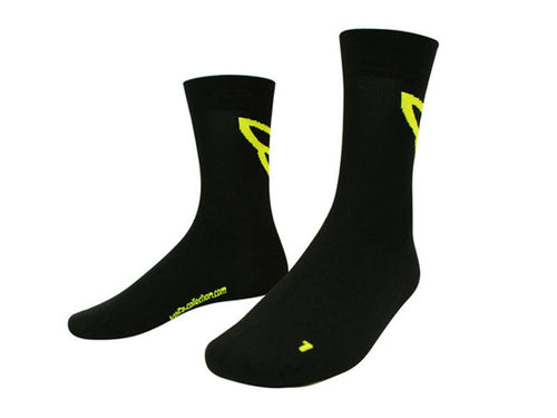 Volta Neon Socks - Black