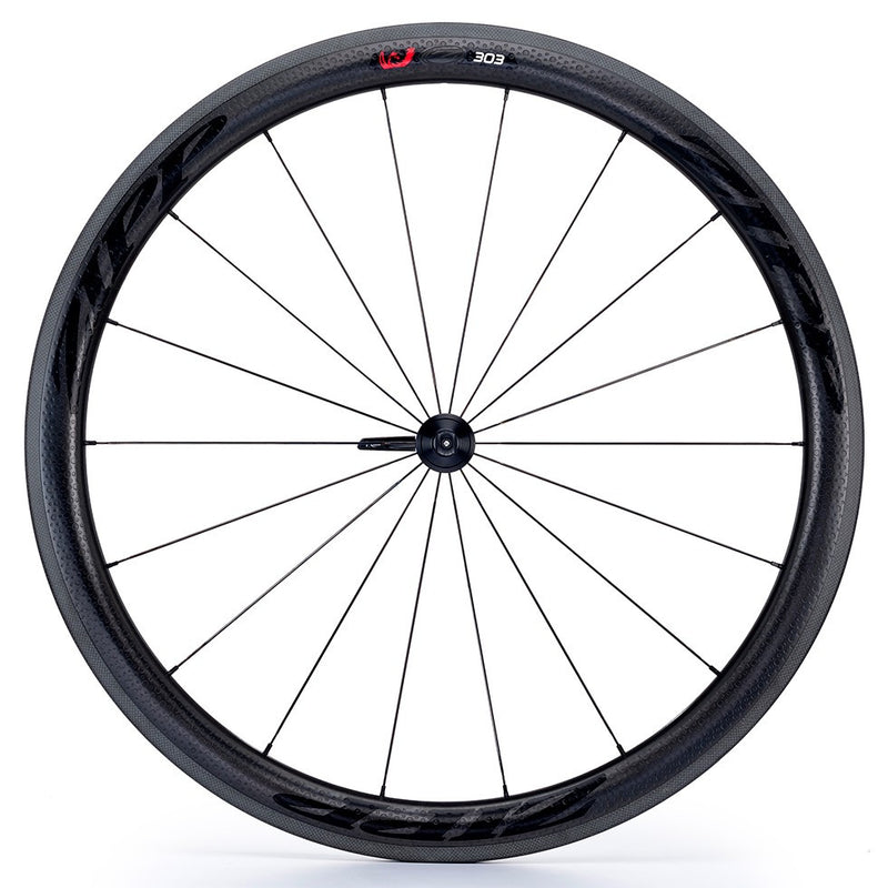 Zipp 303 V3 Firecrest Carbon Clincher Front Wheel - Black Decal