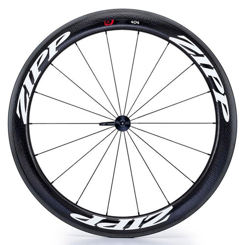 Zipp 404 V3 Firecrest Carbon Clincher Front Wheel - White Decal