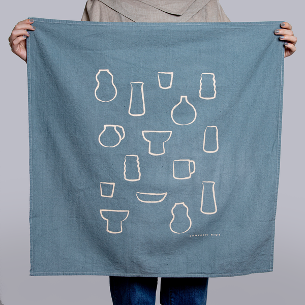 Paper & Clay Ceramics Tea Towel