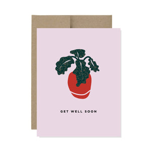 Get Well Soon - Card
