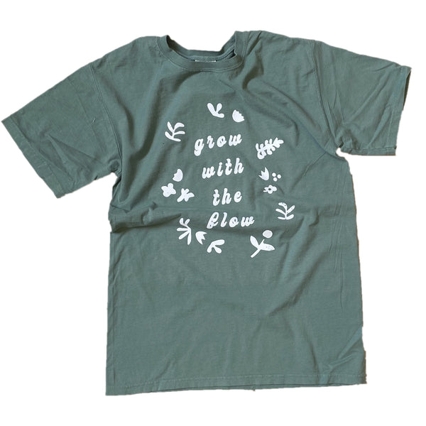 Grow With The Flow Graphic Tee