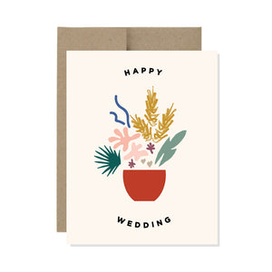 Happy Wedding - Card