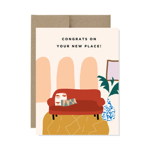 Congrats on your new place - Card