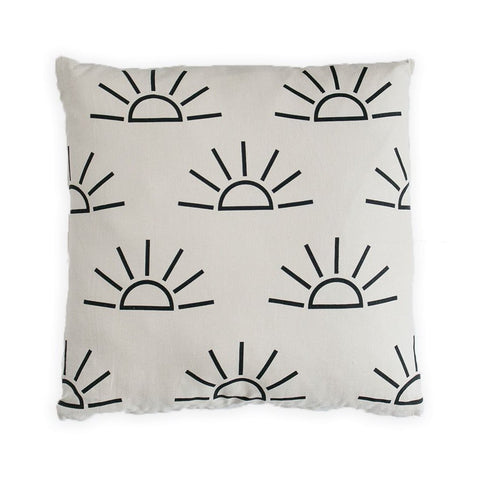 Sunrise Pillow Cover - Tan