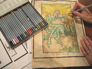 New coloring book project, Book of Nine Gates