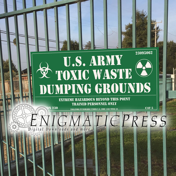 U.S. Army Toxic Waste Dumping Grounds, 11