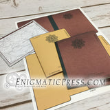 Official Government file themed greeting cards, pdf digital download, home printable
