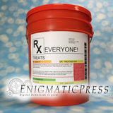 "Extra large 8.5""x11"" Editable Prescription style Bucket labels, PDF, digital download print at home"