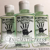 Doc Buttwallos Sanitizing Slime, Hand sanitizer Labels, fits 2fl oz, 59.2 ml size bottle, fun digital download, home printable labels