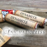 6 Dynamite TNT styles Lifesavers labels candy wrappers, easy DIY PDF, instant digital download home printable