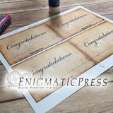 Congratulations Diploma styles Mentos candy wrapper labels, fits 1.3oz (37.5g) size, home printable PDF, instant digital download