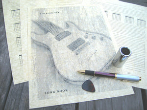 guitar music writing pdf