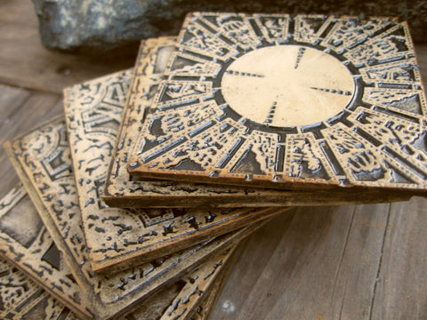 6 pack of hellraiser coasters