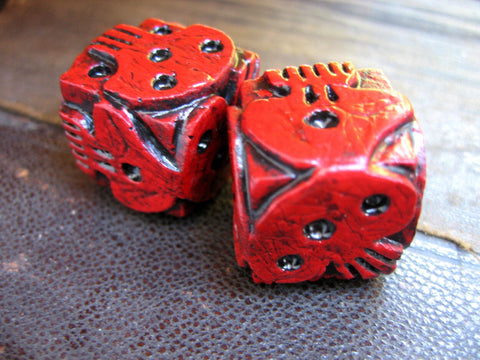 red oogie boogie dice