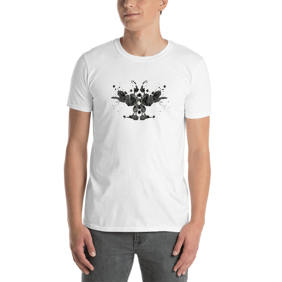 Ink blot 1, Short-Sleeve Unisex T-Shirt