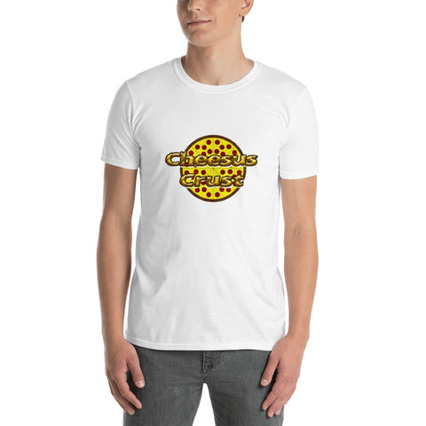 Cheesus Crust Short-Sleeve Unisex T-Shirt