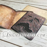 Necronomicon Evil Dead style, greeting card with envelope DIY home printable PDF, digital download