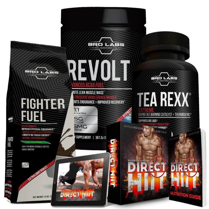 INTERMITTENT FASTING STACK + DIRECT HIIT 90-Day Fat Burning Workout Program