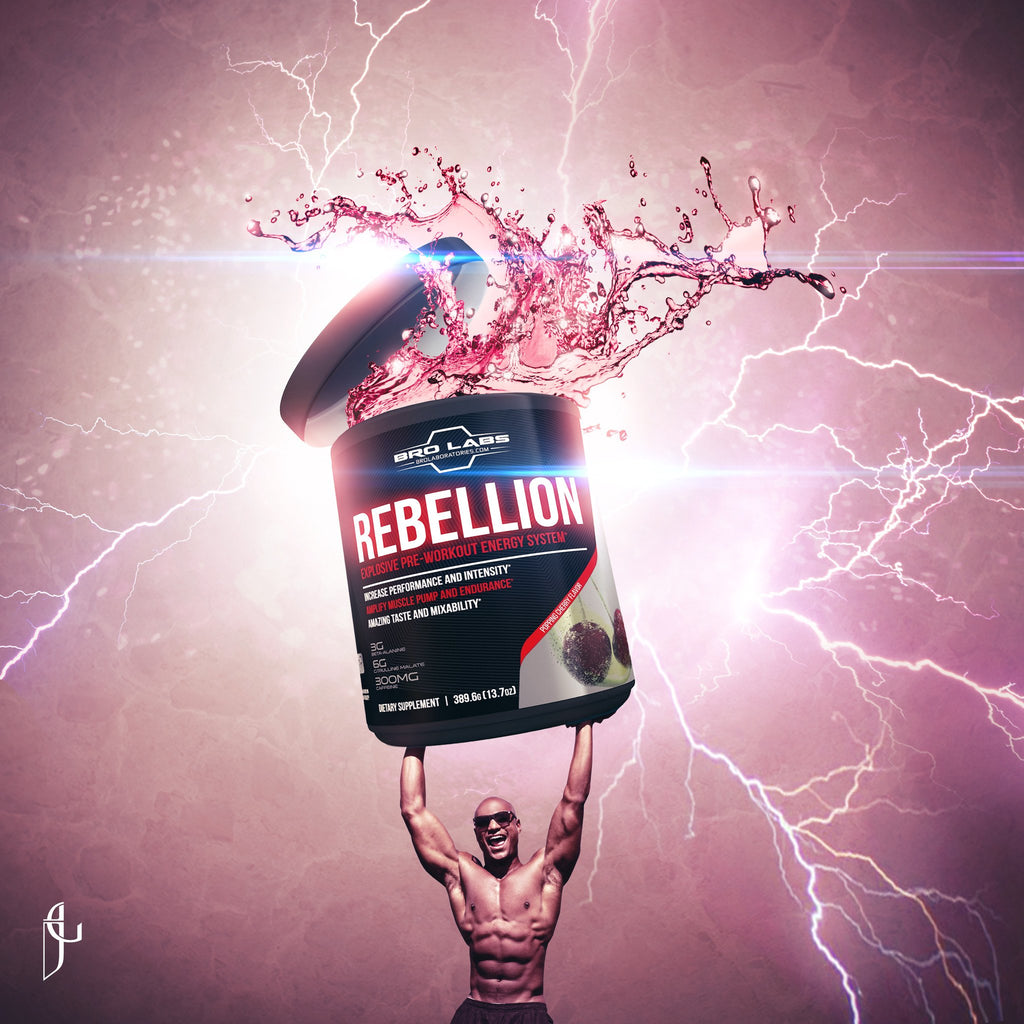 Rebellion Explosive Pre-Workout Energy System - 50% OFF SALE