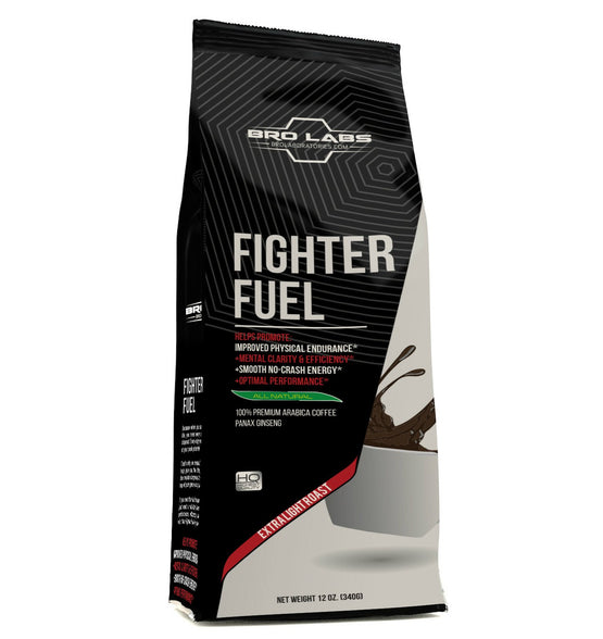 Fighter Fuel 100% Arabica Coffee + Ginseng (out of stock, will take 4-6 weeks to ship)