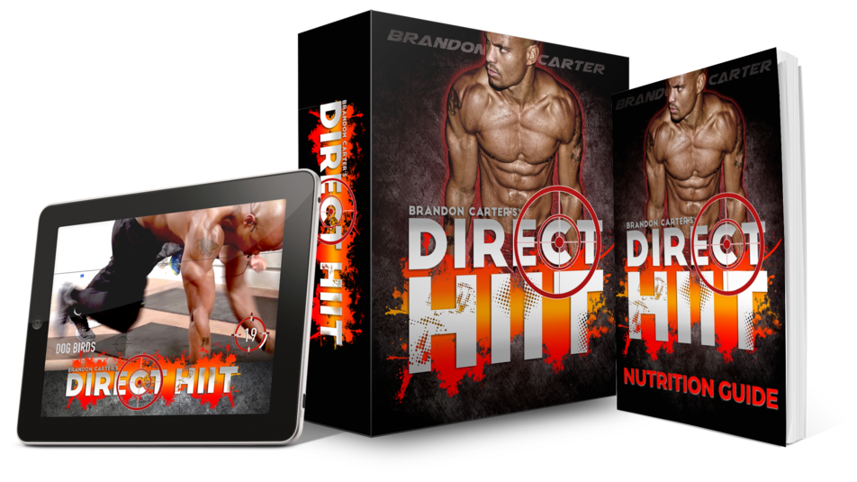 Custom Meal Plan + DIRECT HIIT 90-Day Fat Burning Workout Program