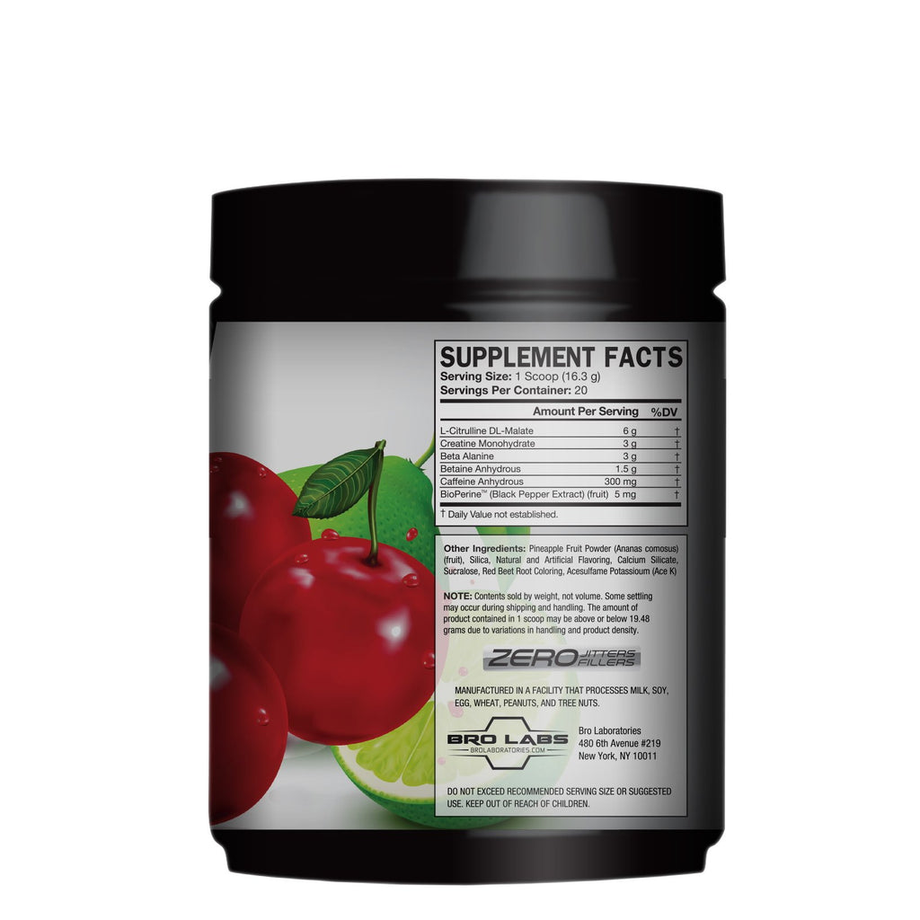 Rebellion Pre-Workout Energy System