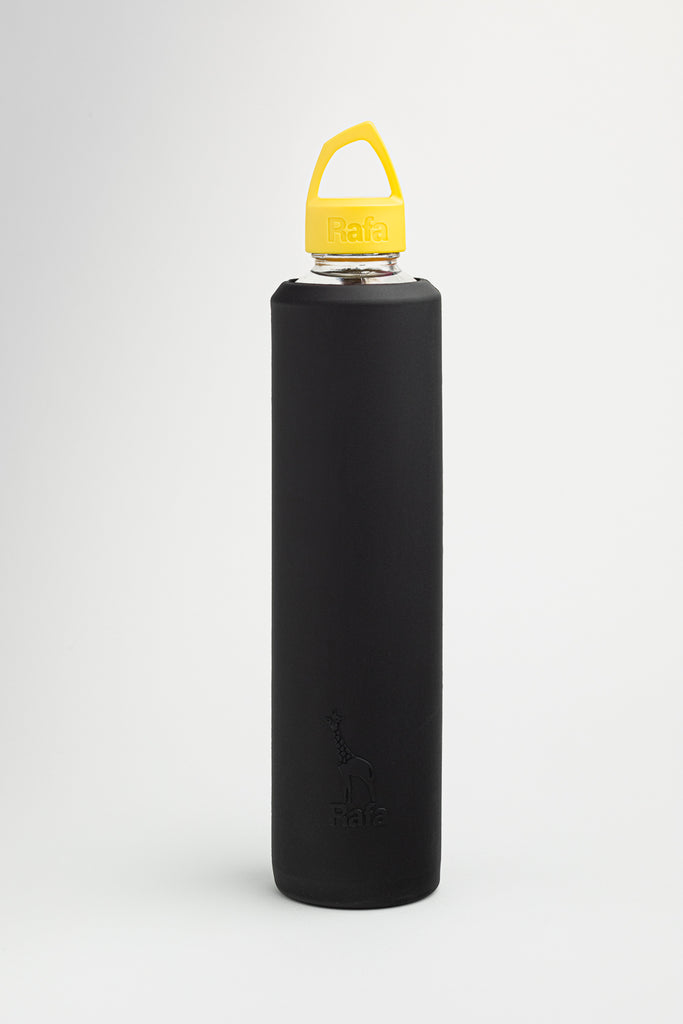 Vossanova Sleeve and Lid - Black & Yellow