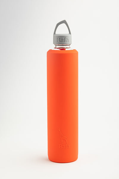 Vossanova Sleeve and Lid - Orange & Gray