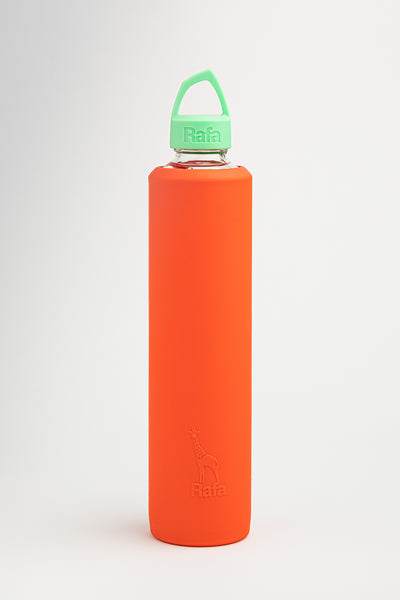 Vossanova Sleeve and Lid - Orange & Green