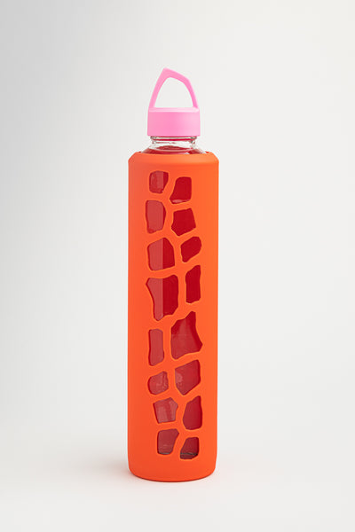 Vossanova Sleeve and Lid - Orange & Pink