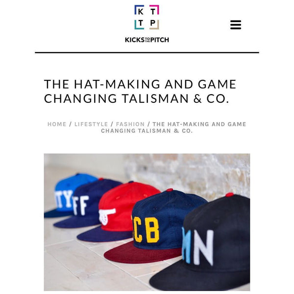 Talisman & Co. Featured in Kicks to the Pitch