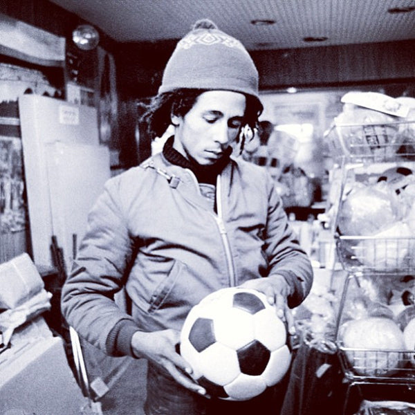 The Best Video You'll Watch All Day - Bob Marley Playing Footy in New Zealand