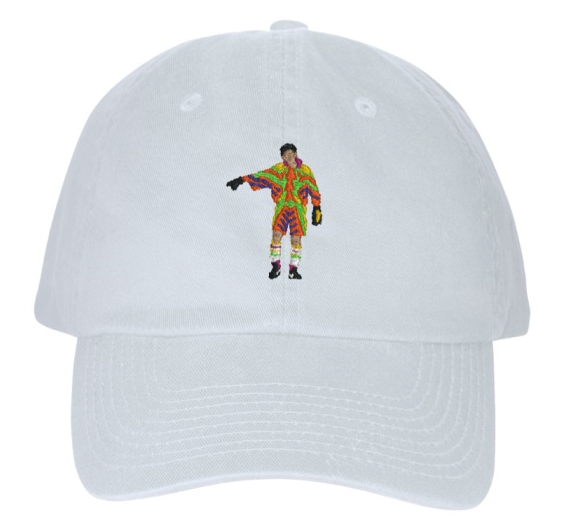 Embroidered Player Dad Cap Concepts