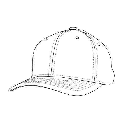 Talisman & Co. | 6-Panel Cap Coloring Page