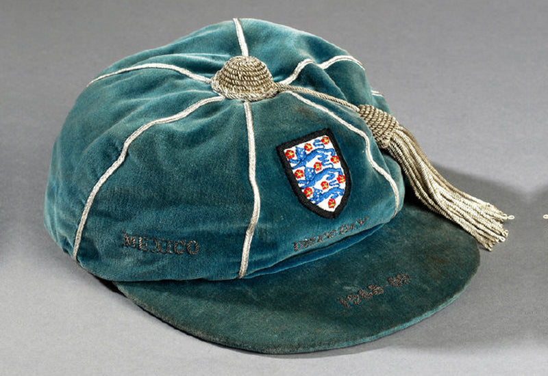 England v Mexico International Football Cap, 1968
