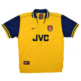 Arsenal 1996-97 Nike Away Jersey - Bergkamp #10